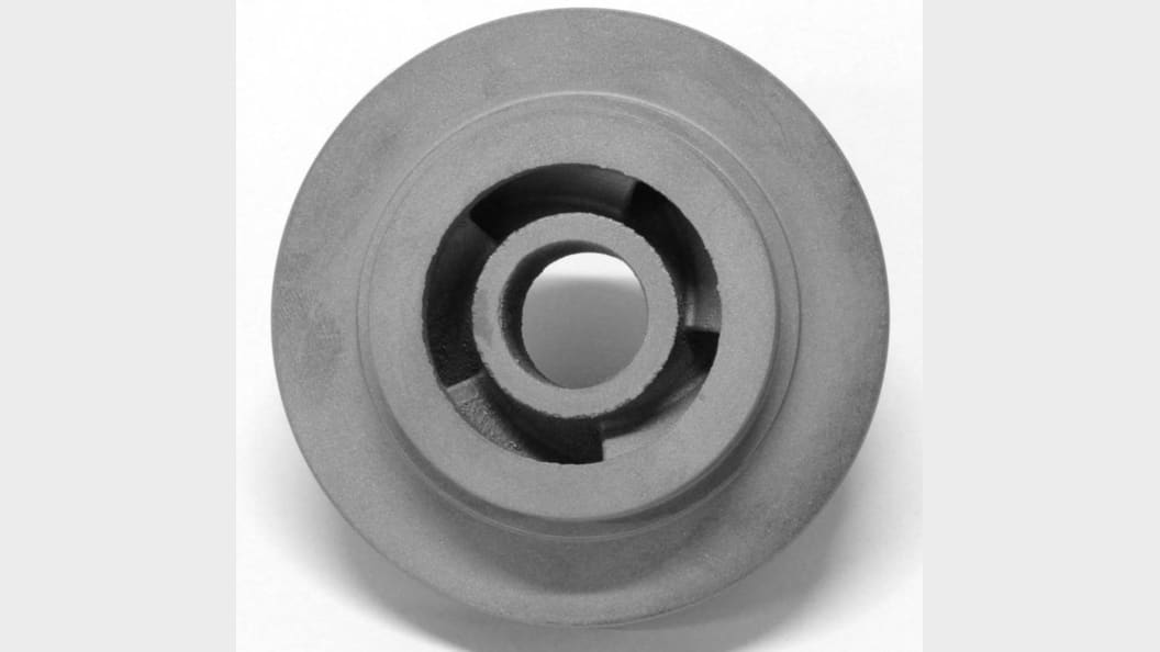 Impeller after post-machining