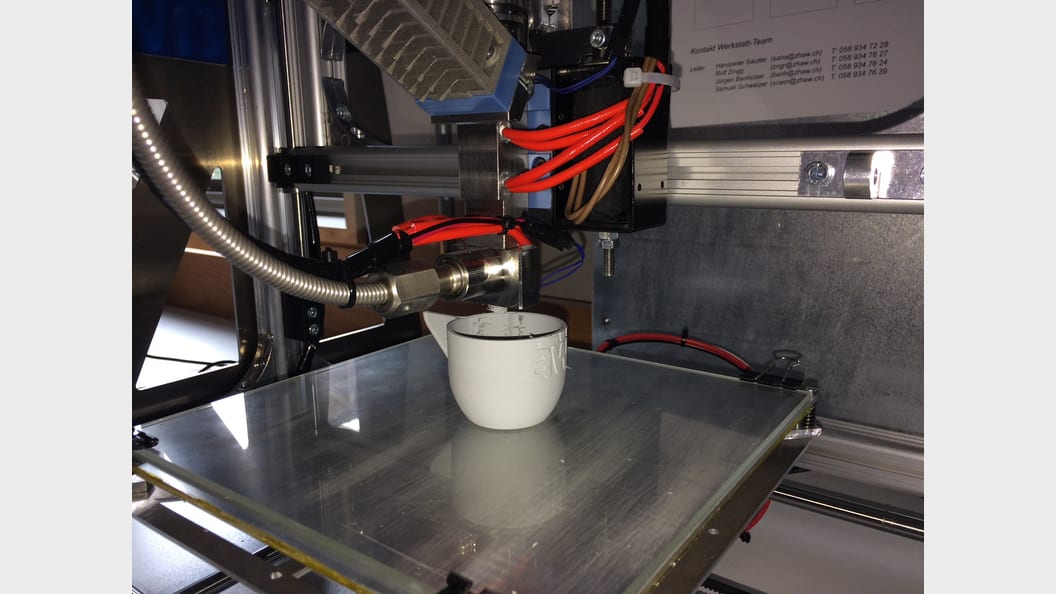 3D ceramic printers based on microextrusion