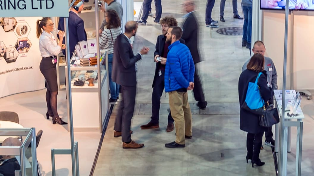 AM Expo offers space and time to get in touch with potential customers.