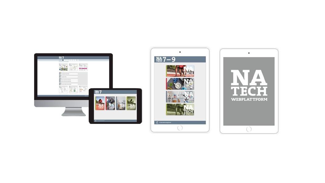 Digitale Lehrwerkteile von NaTech 7–9