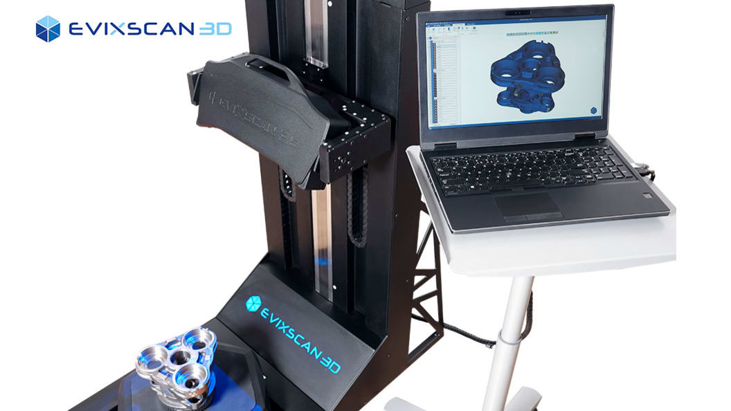 3D Scanning and Quality Control by EviXscan