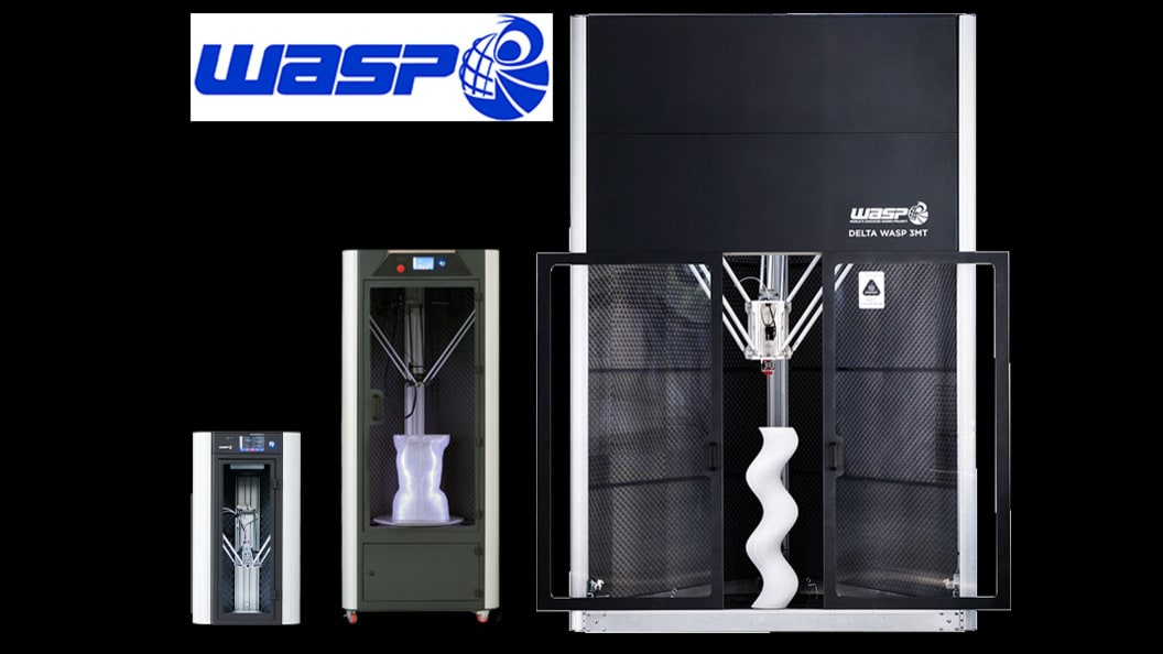 DELTA WASP INDUSTRIAL 3D Printer Series: