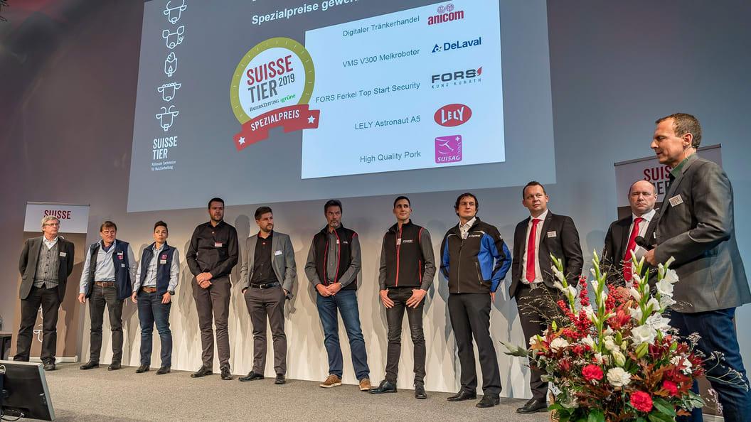 Die Gewinner des gewerblichen und bäuerlichen Innovationswettbewerbes 2019.