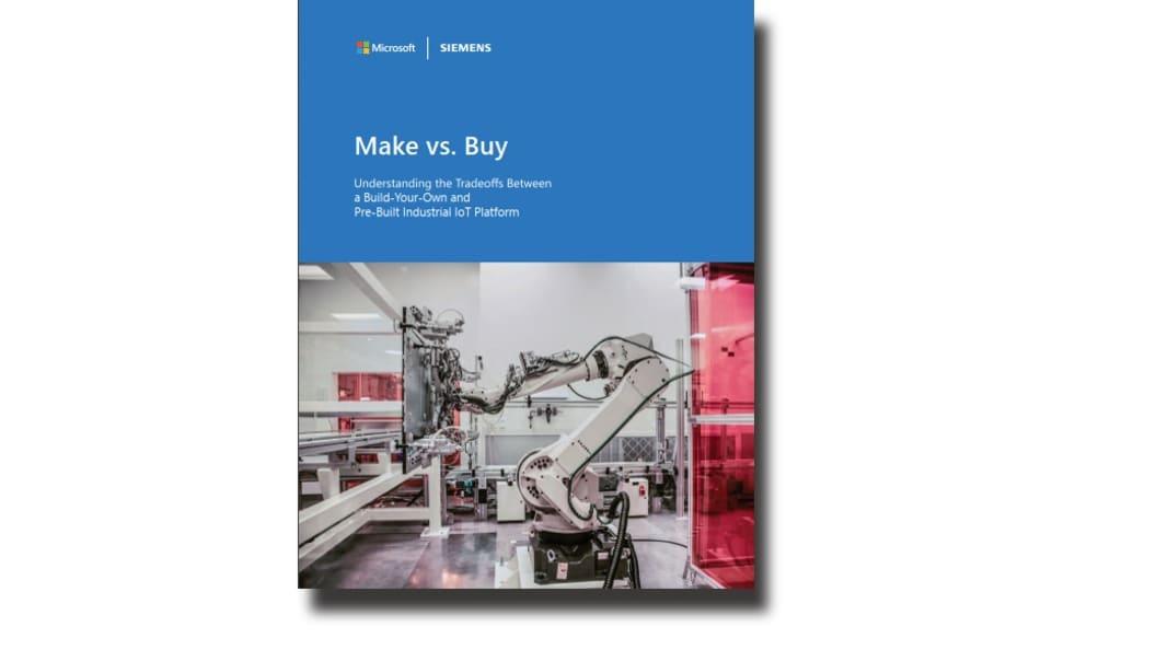 Understanding the trade-offs between a build-your-own and pre-built IIoT platform