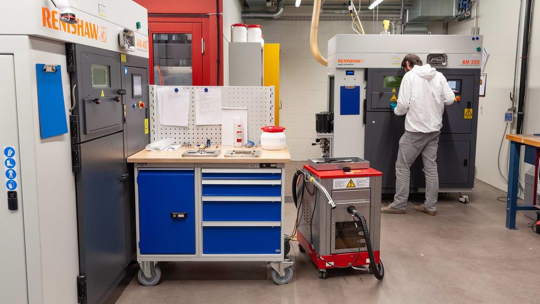 Fertigungsanlagen für das Laser Powder Bed Fusion (LPBF)