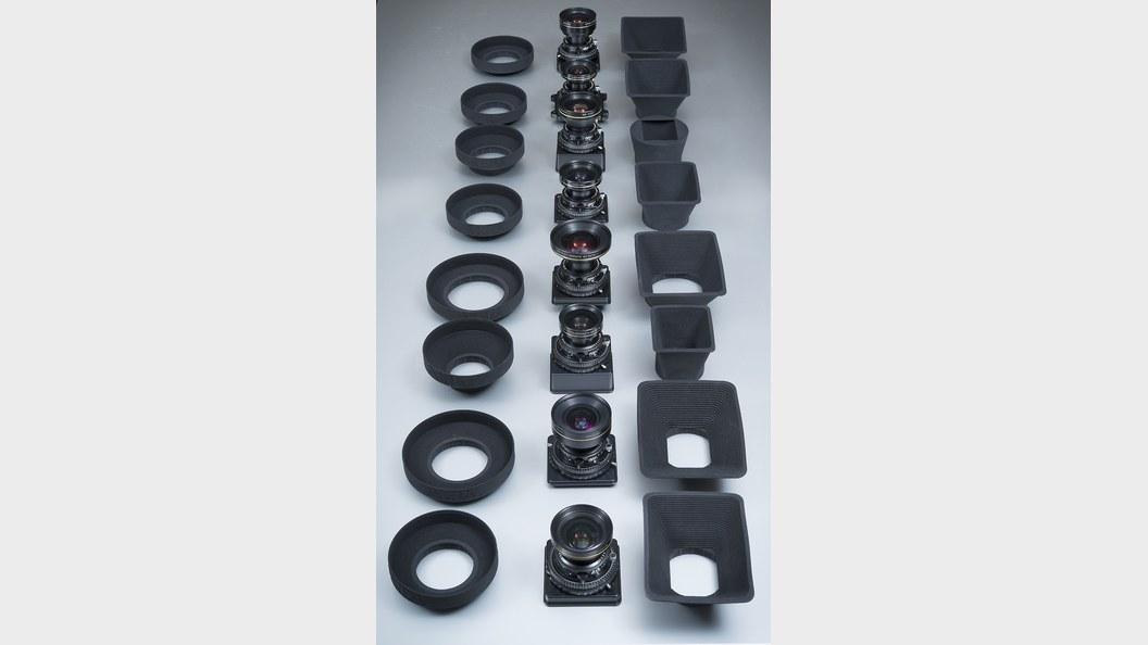 Individuell angepasste Streulichtblenden für High-End-Kameras