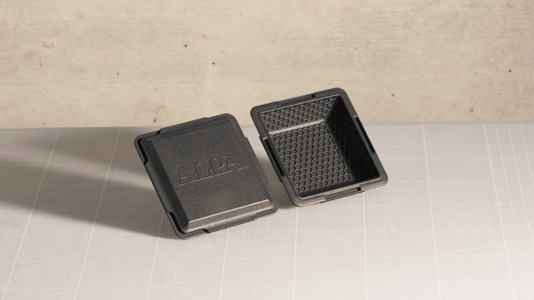 Laser sintered accessories like covers and handles ©ALPA Capaul & Weber AG