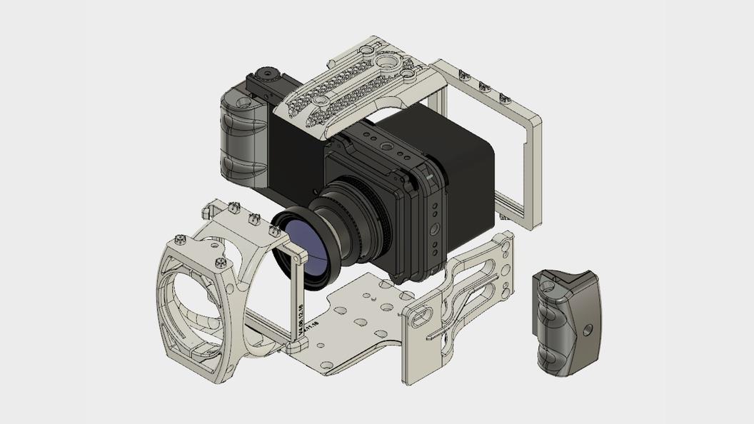 Photogrammetrie-Kamera ALPA 12 FPS add|metrisch ©ALPA Capaul & Weber AG