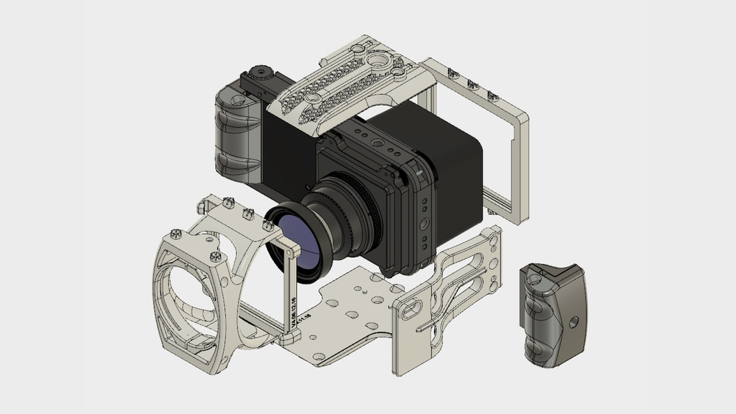 Photogrammetry camera ALPA 12 FPS add metric with assembly ©ALPA Capaul & Weber AG