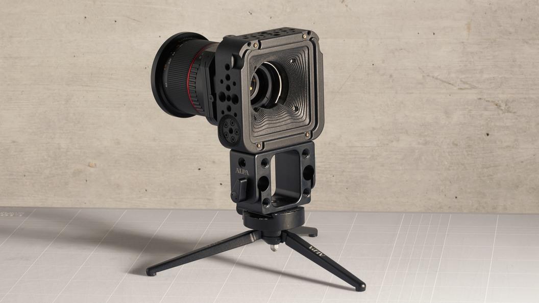High-End-Videokamera für Hasselblad H6D-100c Digitalrückteil ©ALPA Capaul & Weber AG