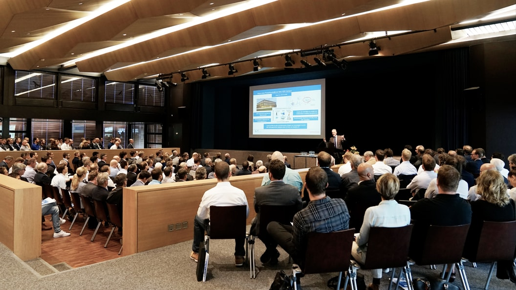 Around 170 participants at the 12th Rapperswil Plastics Forum