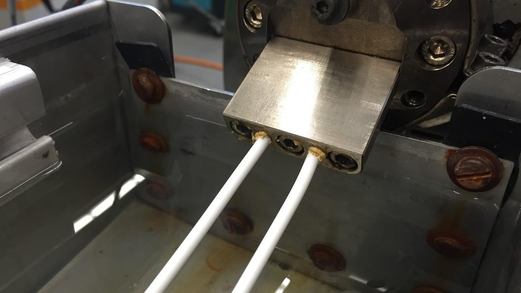 Extrudieren der Filamente