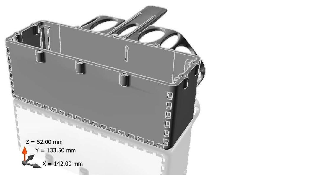 3D Daten des Akkuhalters, Version mit Belüftungsöffnungen