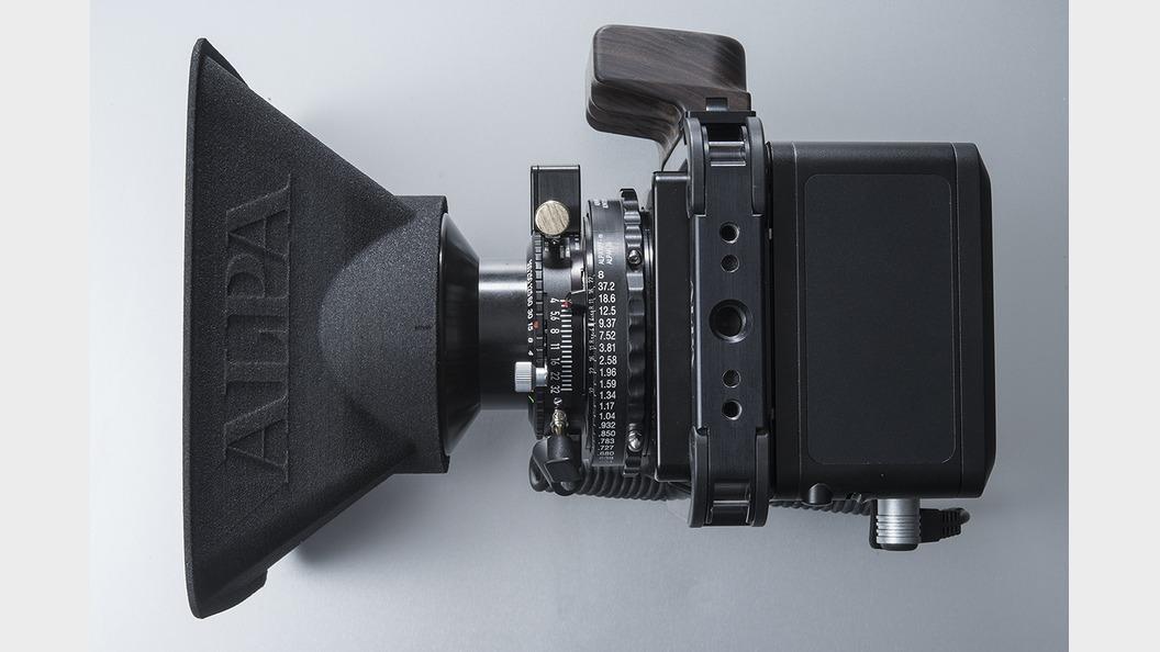 """Wide"" lens shade for a short focal length"