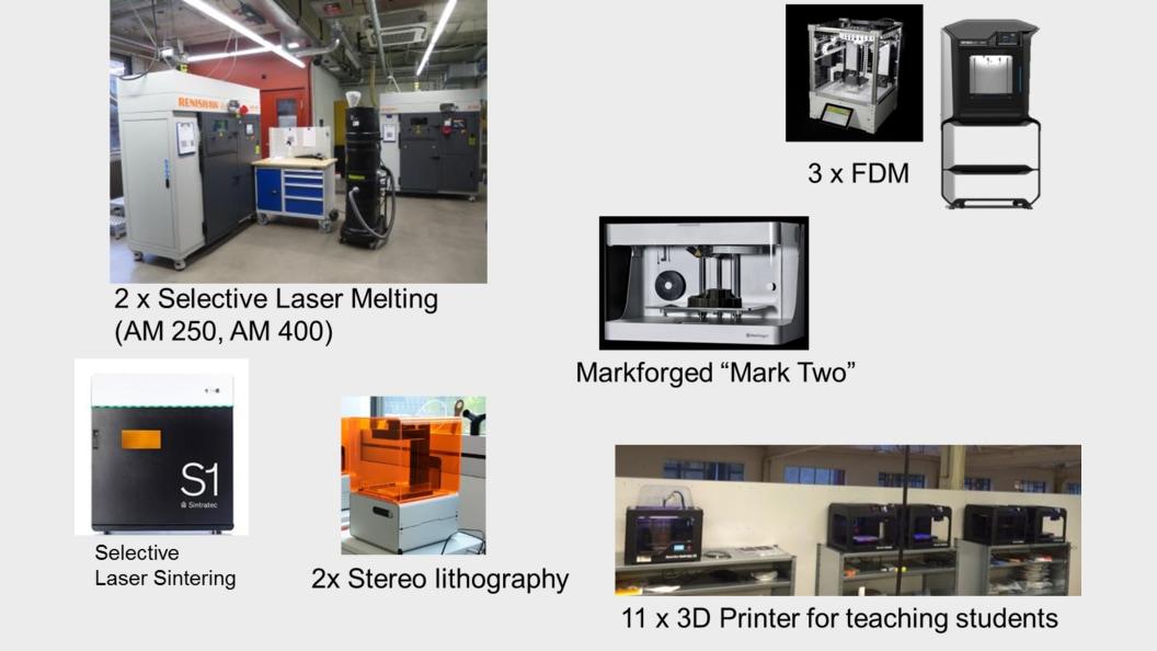 3D Drucker am ZPP für Lehre, Weiterbildung und aF&E