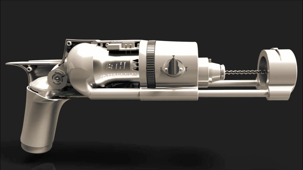 Saugsystem, welches von der Motorkühlung angetrieben wird.