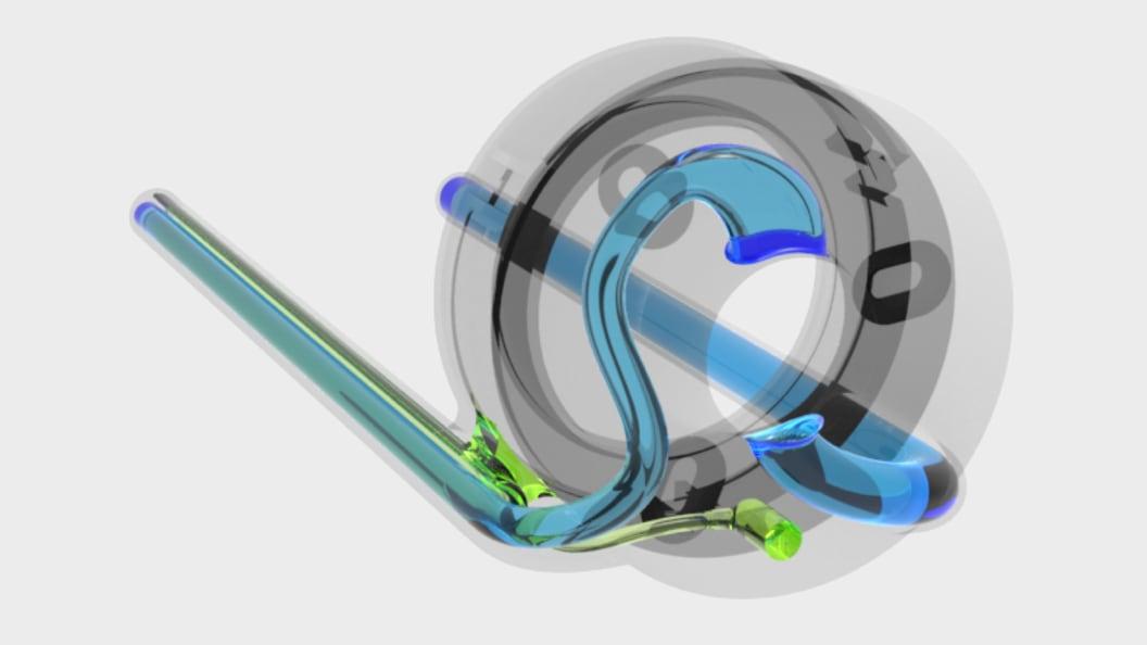 Versteckte Luftkanähle ermöglichen das Absaugen des Bohrstaubs.