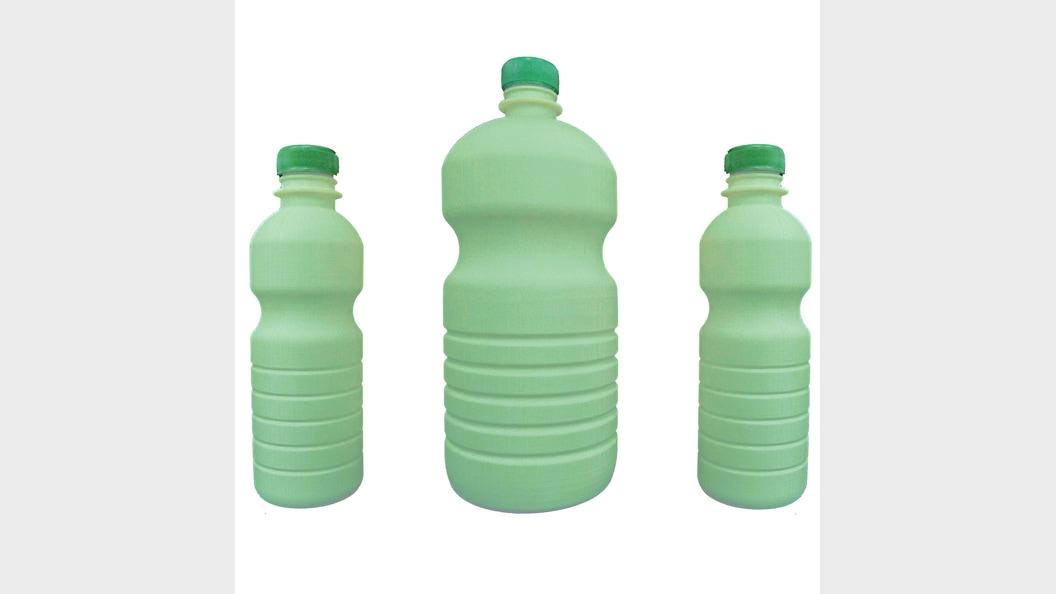 Kunststoff-Flaschen Prototypen