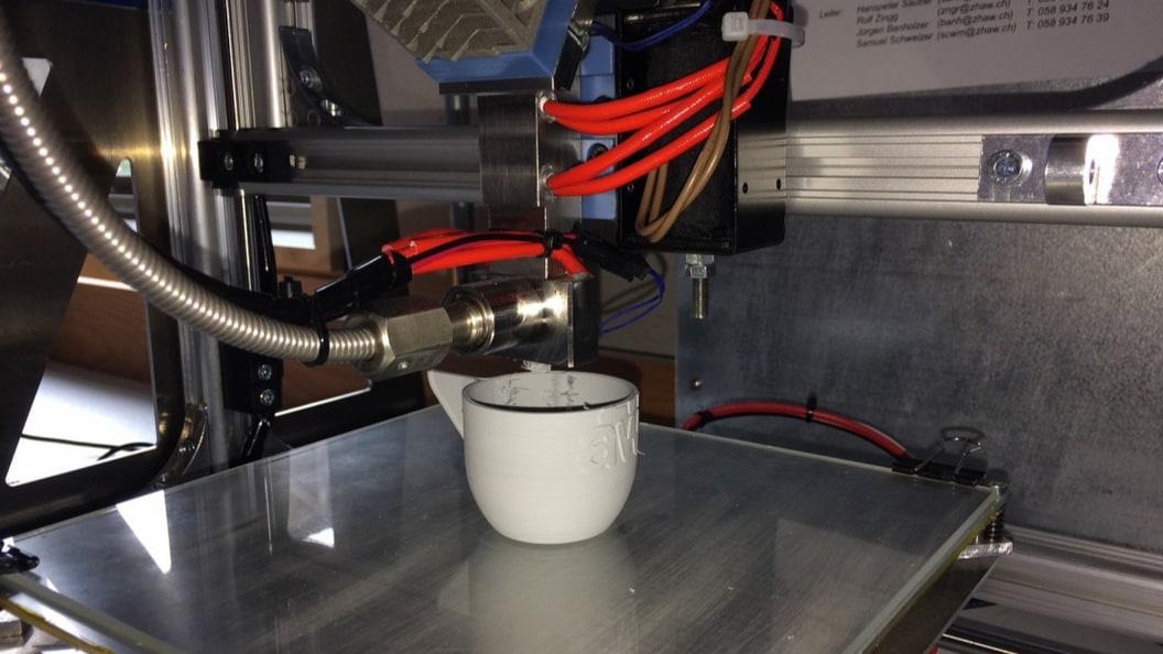 3D Keramikdrucker auf Basis der Mikroextrusion