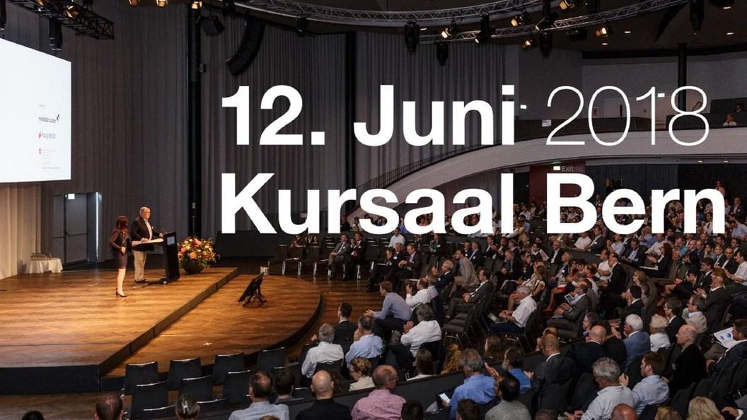 Swiss Medtech Day 18 findet am 12. Juni im Kursaal Bern statt.