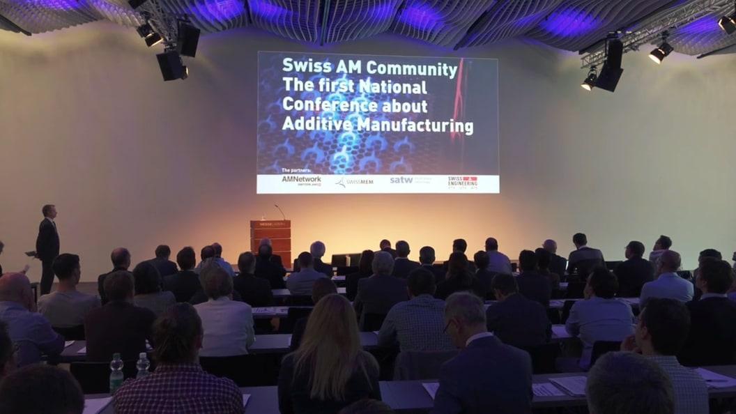 Die erste AM Konferenz war mit 135 Teilnehmenden ein voller Erfolg.