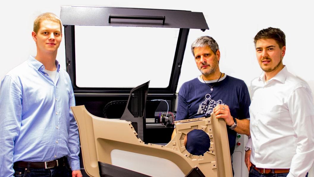 Der erfolgreiche Prototypenbau ermöglicht durch German RepRap X1000