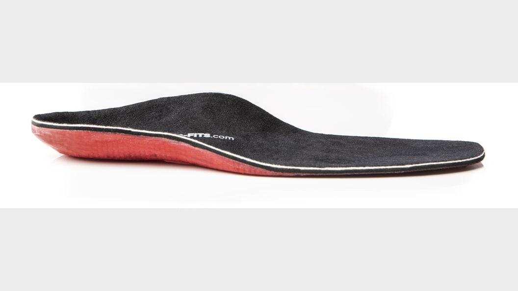 ...einer Schuheinlage aus TPU ©Tailored Fits AG