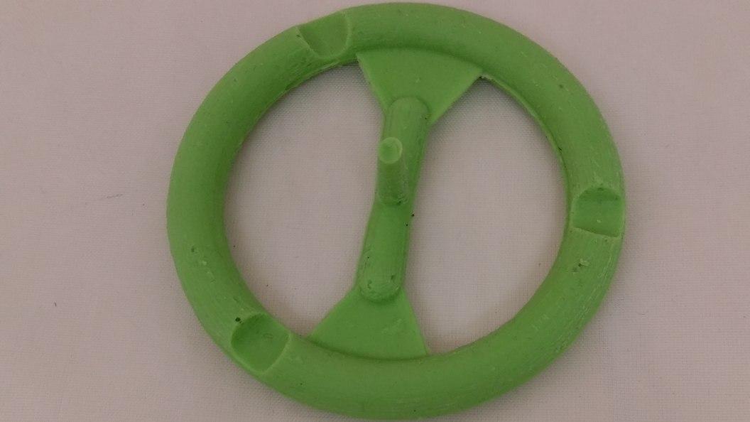 Silicone sealing ring