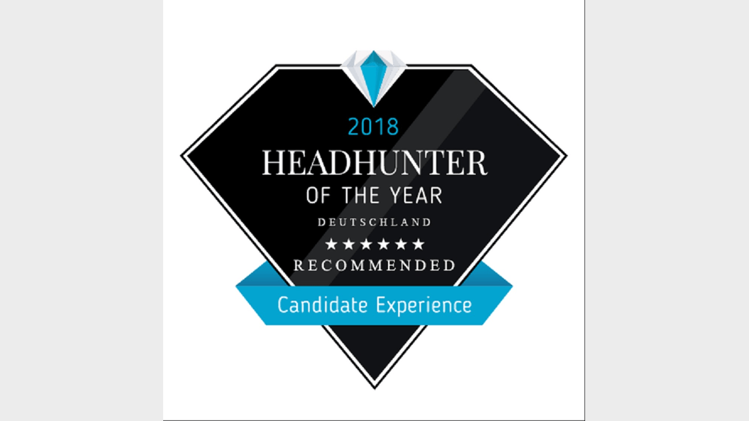 """Recommended Headhunter of the Year 2018"""