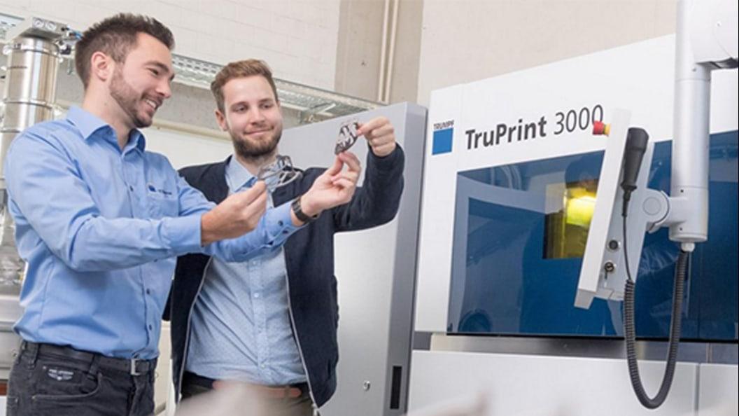 KVT Fastening bietet kompetente Applikationsberatung zur TruPrint 3000.