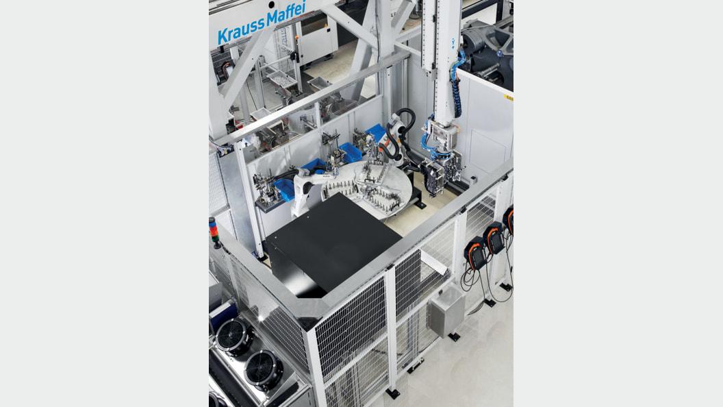 Verfügbarkeit von 96 Prozent: Produktion im Drei-Schicht-Betrieb und bis zu drei Stunden autonom.