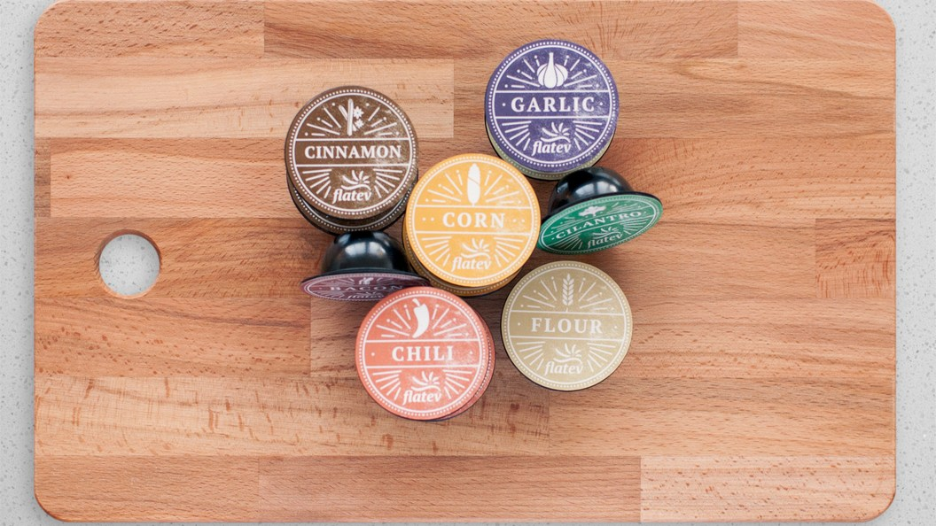 Tortilla capsules