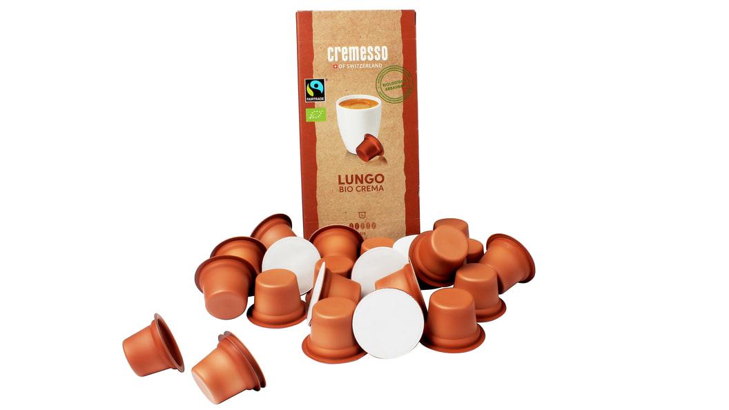 Unsere biologisch abbaubare Kaffeekapsel für Cremesso