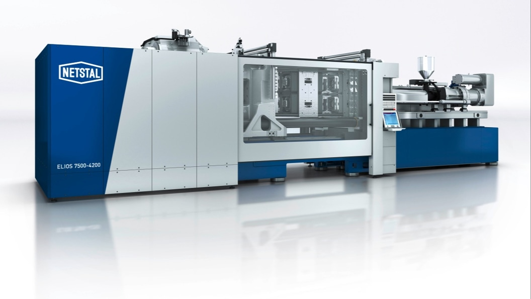 The new ELIOS Series sets new standards in high-performance injection molding.
