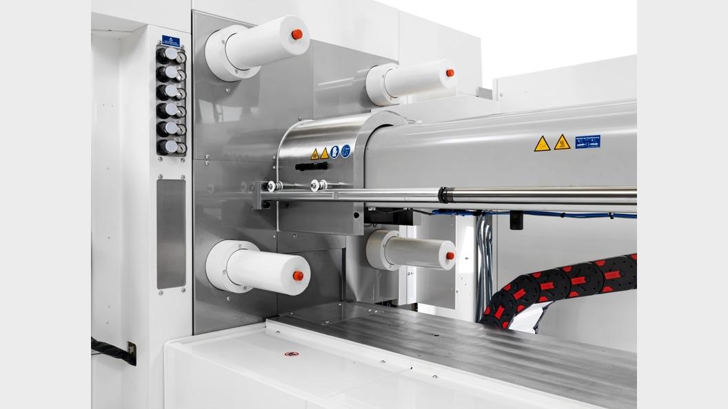 Die patentierte Düsenhaube Clean-Purge reduziert beim Ausspritzen die Partikelaustragung