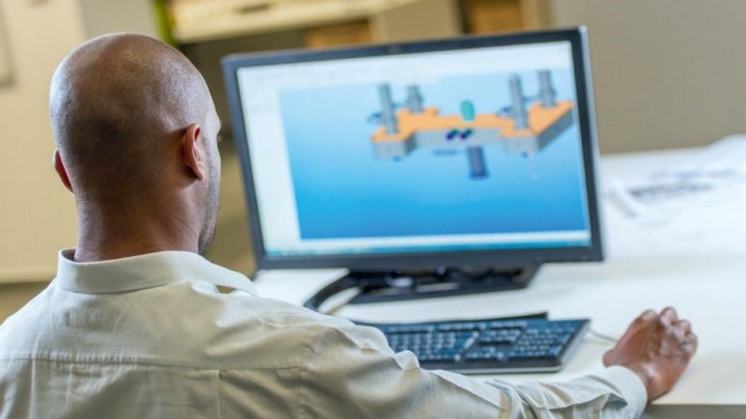 In der Entwicklung werden die Bauteil-Funktionen konstruiert und optimiert.