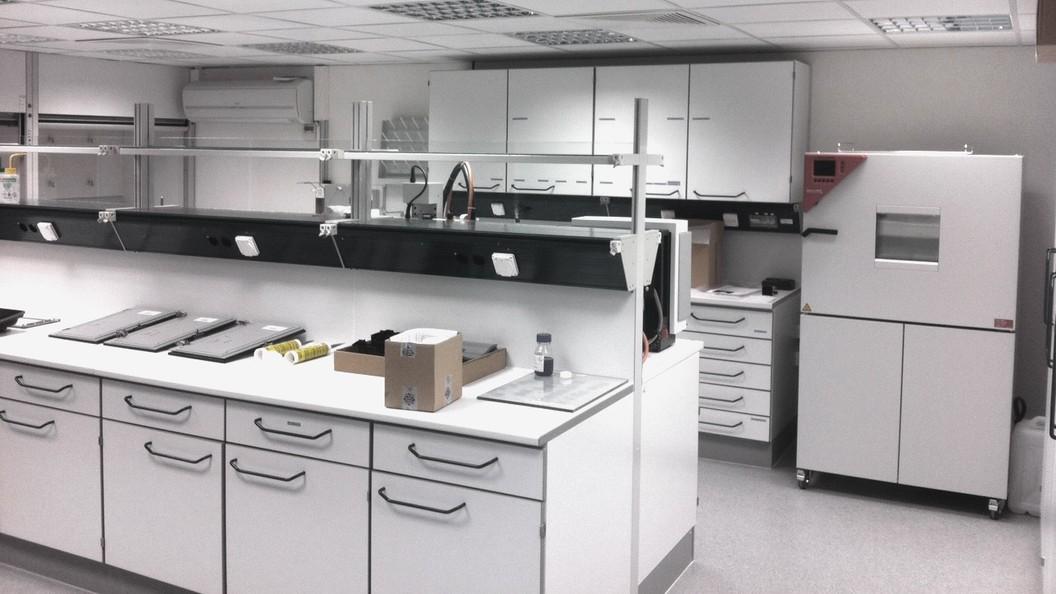 Kunststoff-Labor für verschiedene Labor-Dienstleistungen