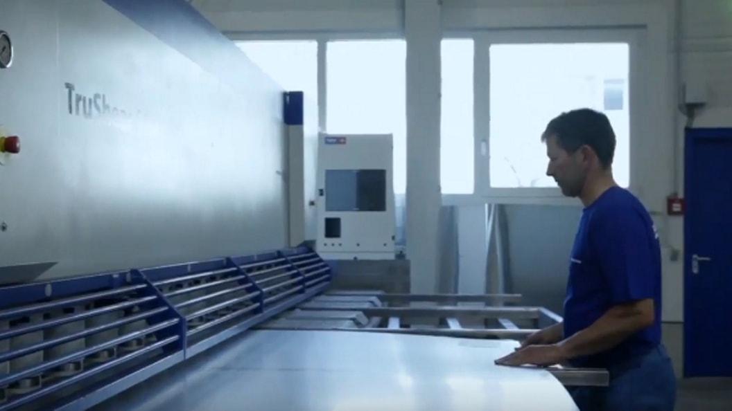 Für sämtliche Abmessungen und Kundenwünsche hat Bibus Metals die richtige Maschine zur Verfügung