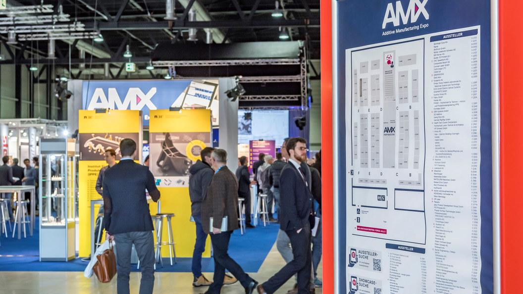 Erstellen Sie Ihre persönliche Merkliste als Vorbereitung auf Ihren Besuch an der AM Expo.