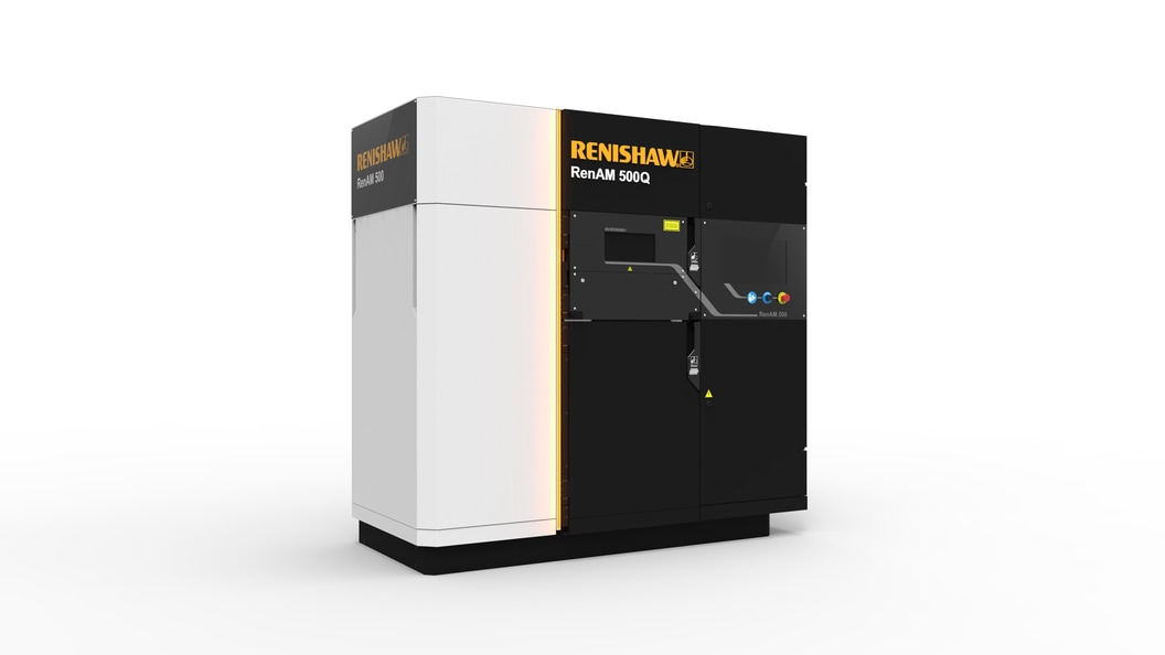 RenAM 500Q is Renishaw's multi-laser AM system