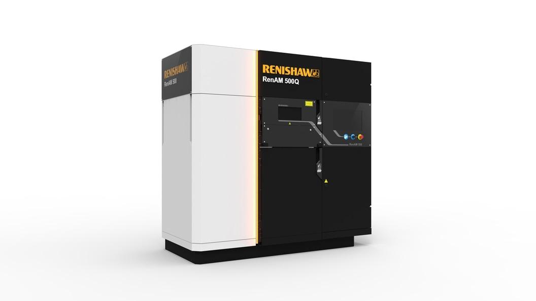 RenAM 500Q Renishaws 4-fach Laser