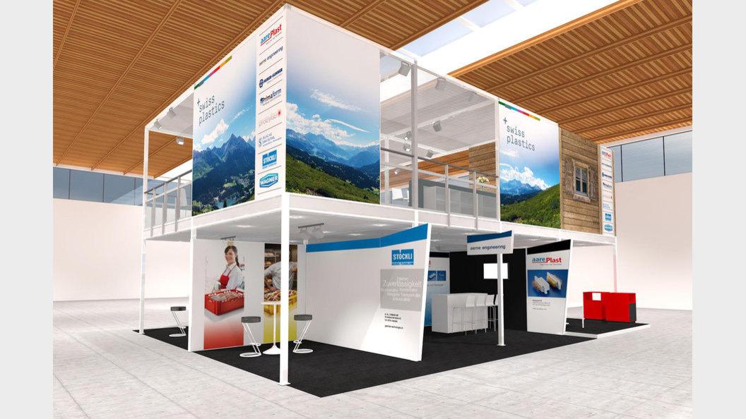Neben Swiss Plastics finden Sie acht namhafte Firmen.