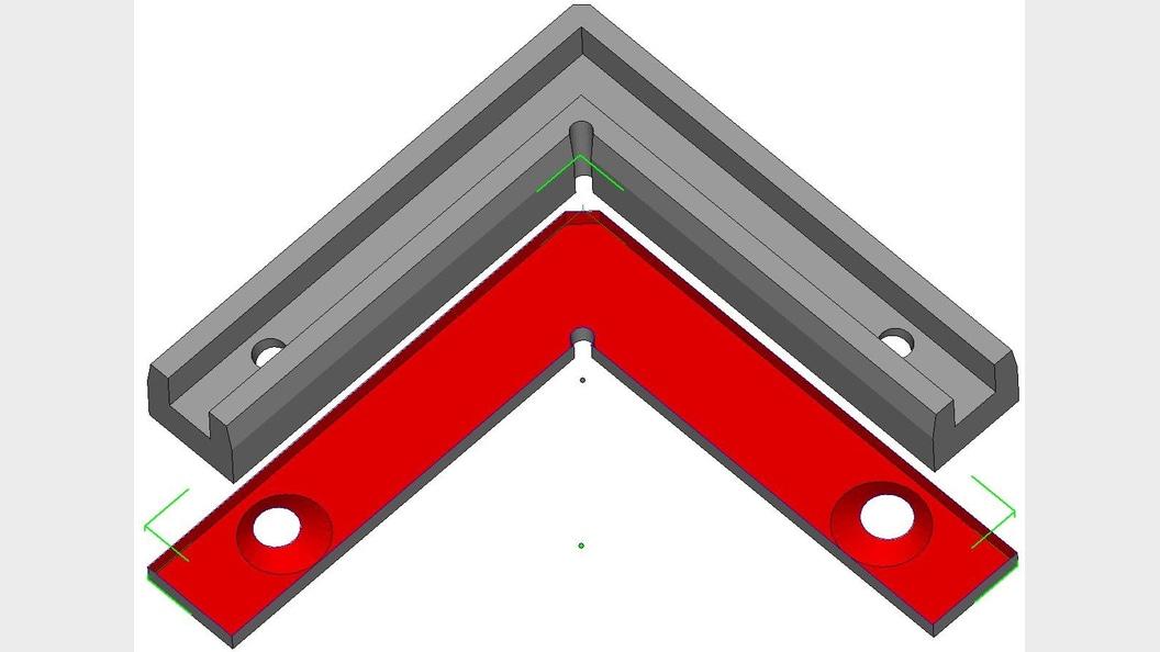 Abb.2a) Schnittbild ursprüngliche Geometrie