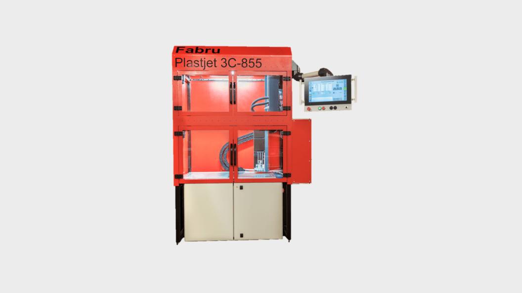 Plastjet 3C-855 mit Glastouchscreen