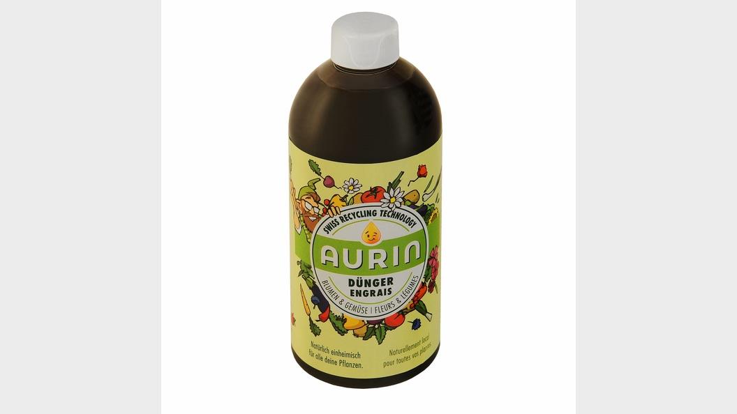 Flasche aus 100% rezykliertem PET