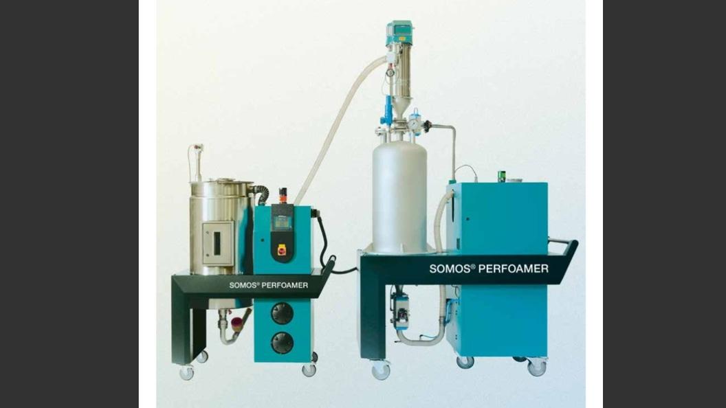SOMOS® PERFOAMER: Physikalisches Schäumen von Kunststoffteilen