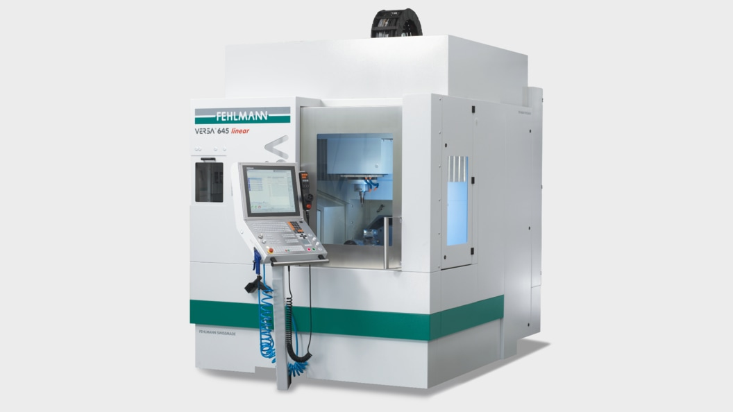 5-axis with positioning/5-axis simultaneous milling, the VERSA 645 linear masters any complex task
