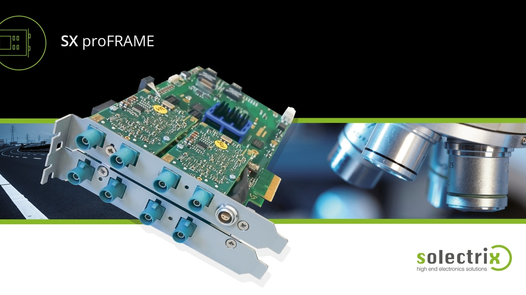 SX proFRAME - Base Board 2.0