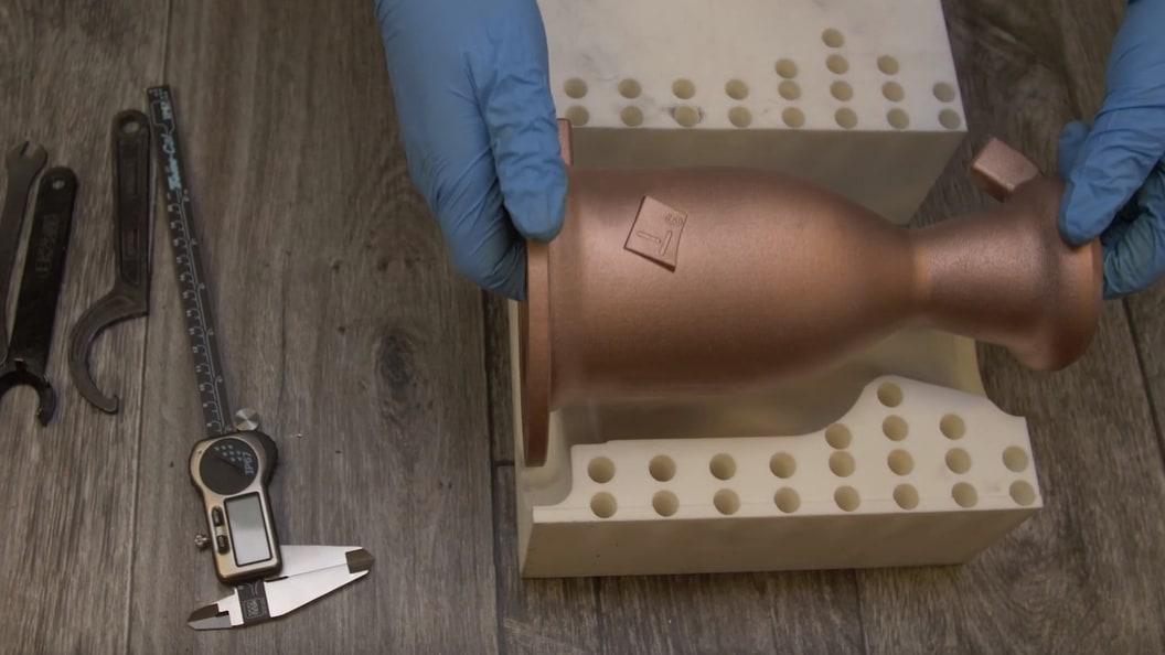 Revolutionization of copper through additive production