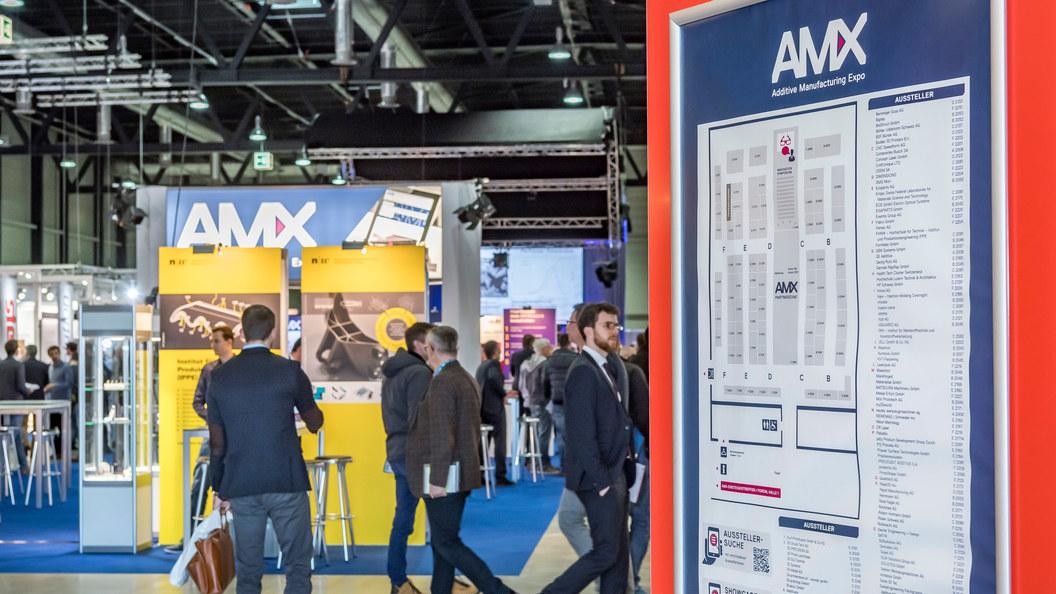 AM Expo vom 12. bis 13. März 2019 bei der Messe Luzern
